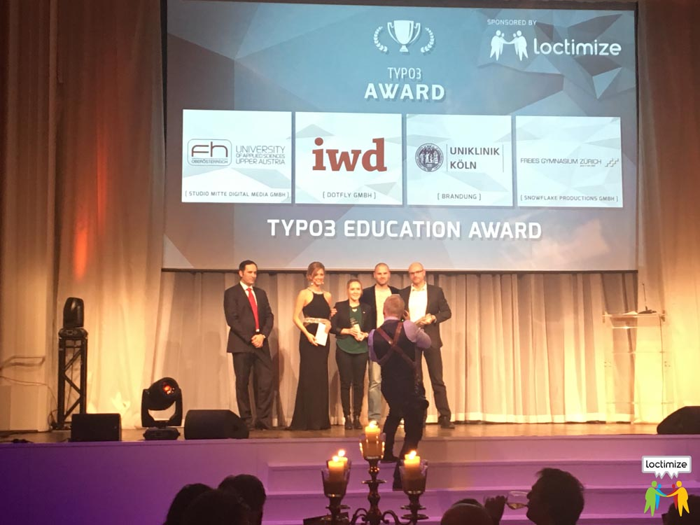 TYPO3 Award 2016 - Winner Category Eduction