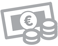 [Translate to Russian:] Icon Geld Euro